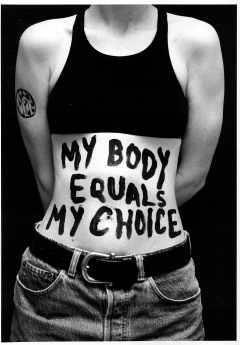My body equals my choice.