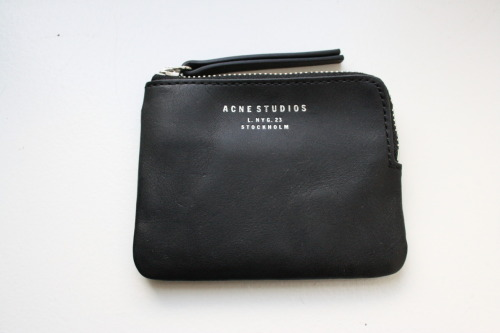 Acne Leather Pouch #2