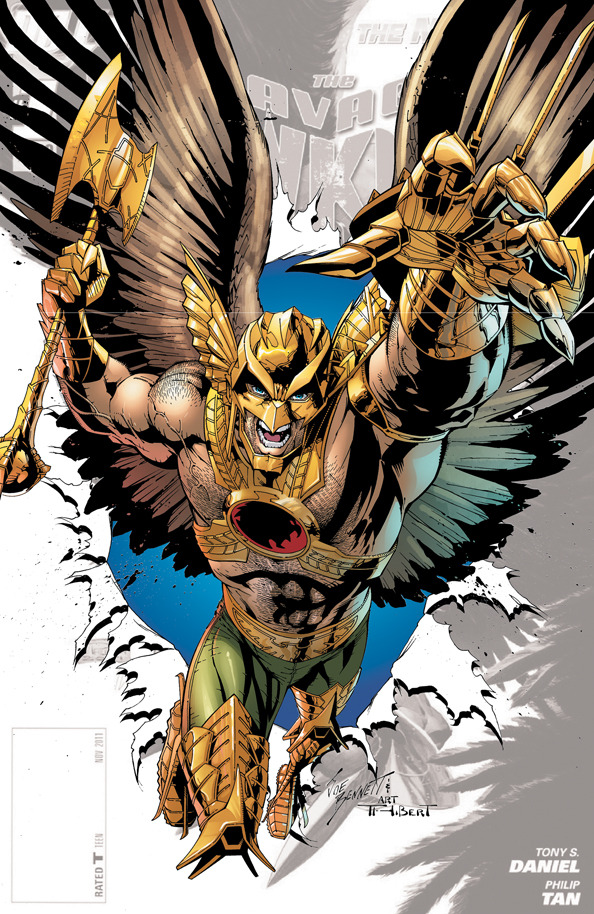 The savage Hawkman #0 by JOE BENNETT