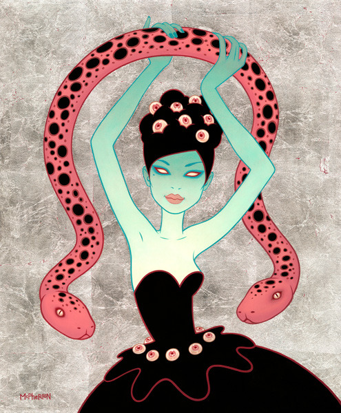 Tara simply does the coolest illustration - sublime. http://taramcpherson.com/