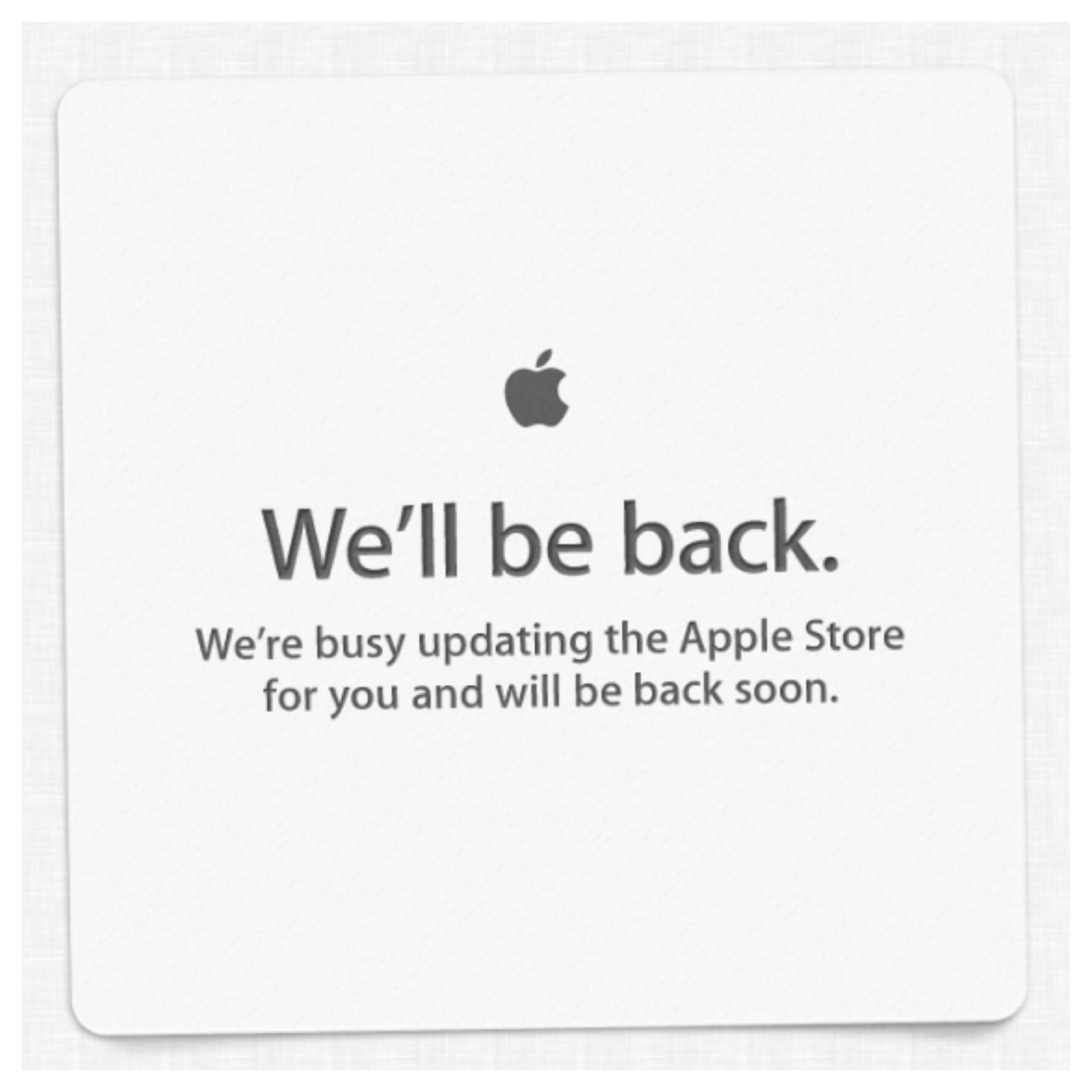 Apple store goes down as WWDC keynote looms