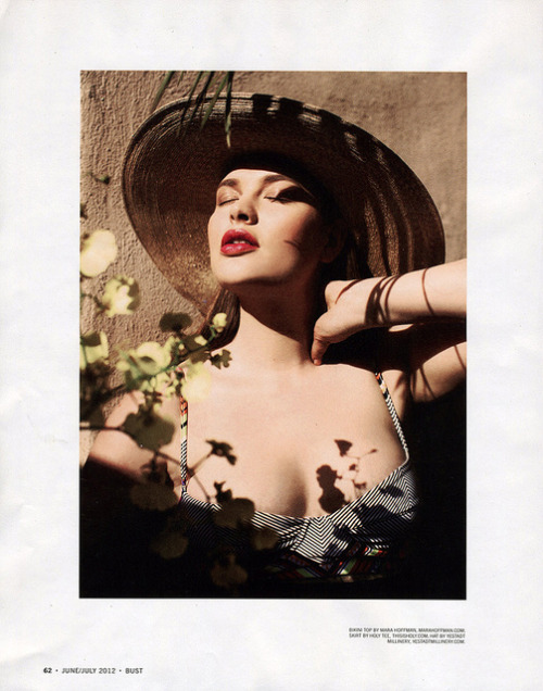 BUST MAGAZINE, JUNE 2012 SAMANTHA WEST // SHIBON KENNEDY