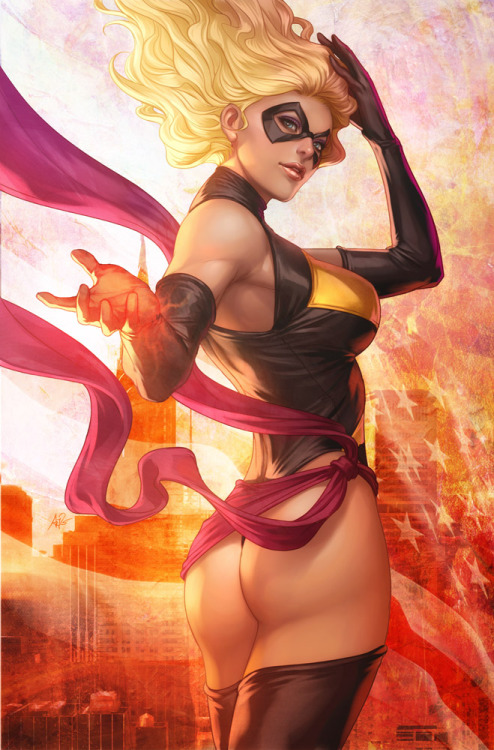 kelith:  Ms Marvel by `Artgerm
