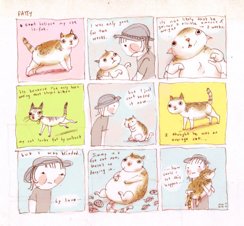 seokim:  Here's a comic about a true story that I made back in October November that I never posted.