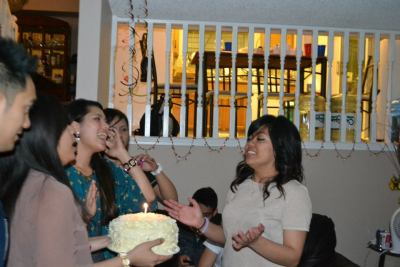 My Sis' 21st Was a blast. We held a semi surprise birthday (coz she already knew there would be a party but wasn't expecting too much, hence it was semi) for her. That night was really one of those I miss: everyone was there, having fun. And I'm really glad my sister showed how happy she was. :) To my sister, Nadj: Taena mo. Mahal na mahal kita. Love you to bits.  Ate. <3