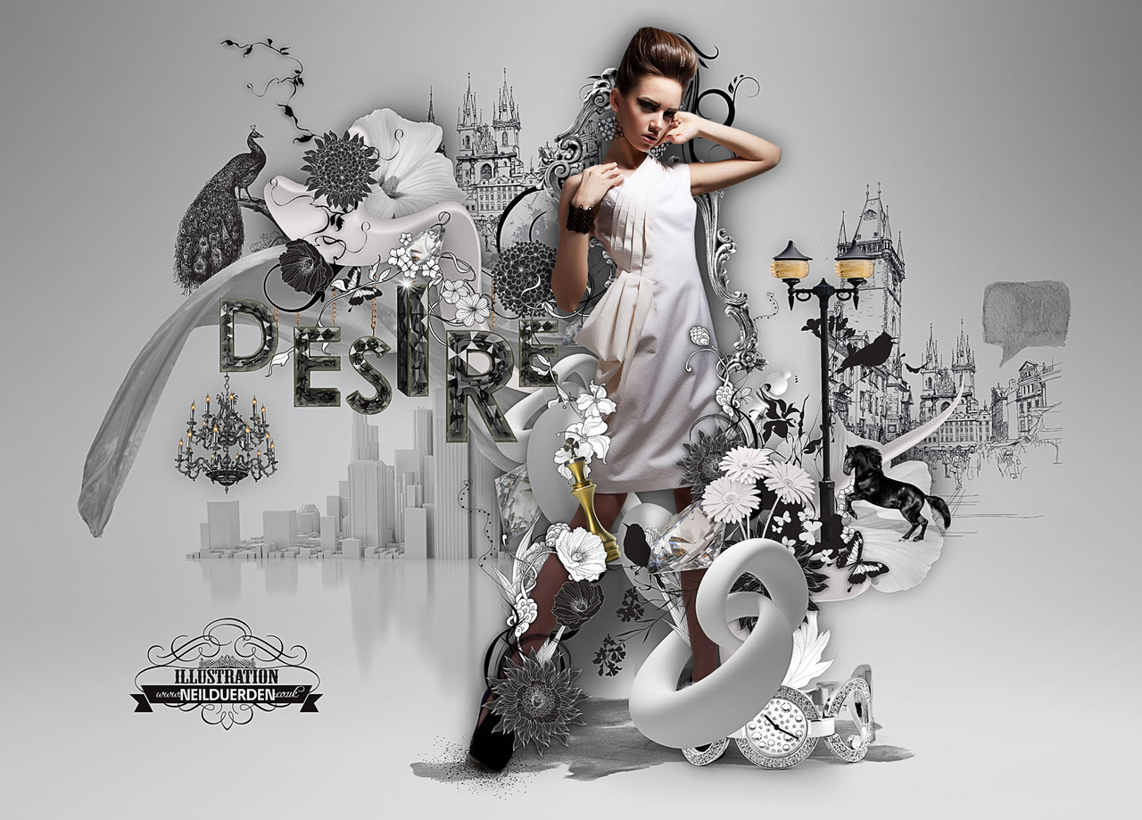 Digital art selected for the Daily Inspiration #1159