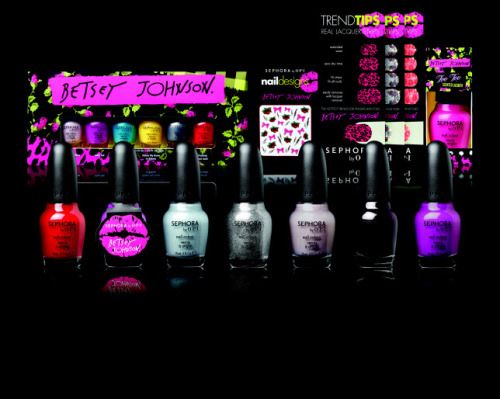 sephora by OPI Betsey Johnson Collection