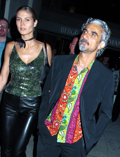 Heidi Klum & first husband Ric Pipino