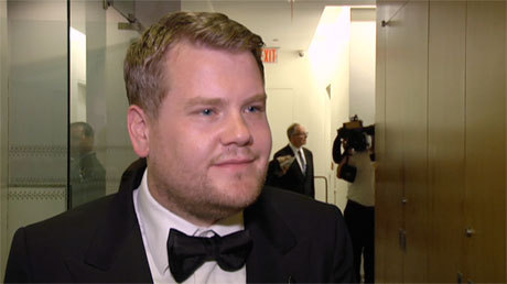 WATCH: James Corden's Heartfelt Backstage Reaction to Tony Win via Anglophenia