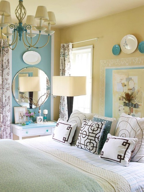 I love the combination of subtle colours in this room.
