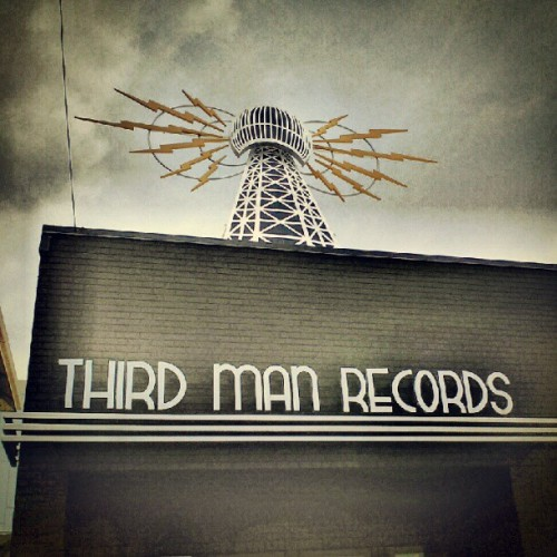 Over Instagramed, but you should be jealous nonetheless. #thirdmanrecords #whitestripes #Nashville (Taken with Instagram)