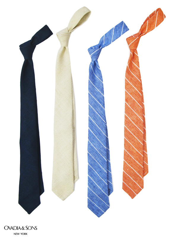 ovadiaandsons:  New in Neckwear: Summer Ties