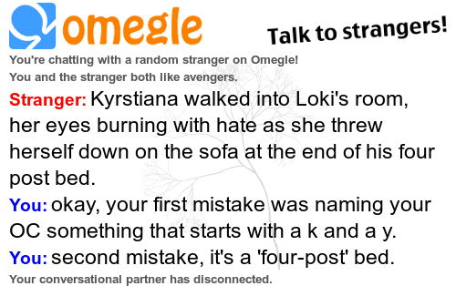 So, the number of Lokiwives on omegle is starting to really worry me.