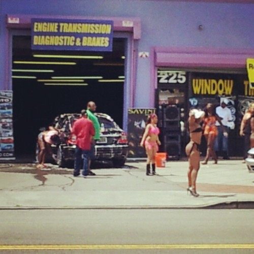 This is my type of car wash!!!! (Taken with Instagram)