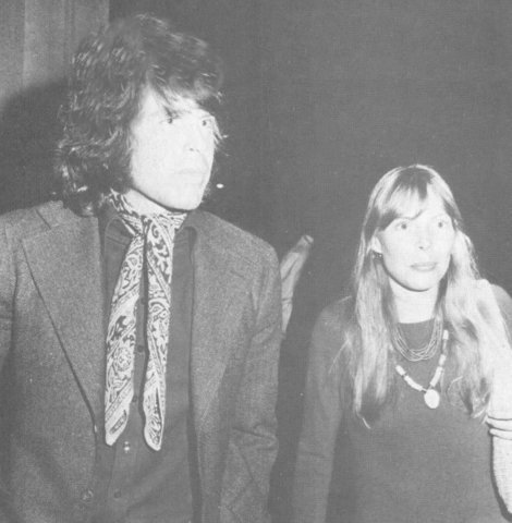 Warren Beatty & Joni Mitchell