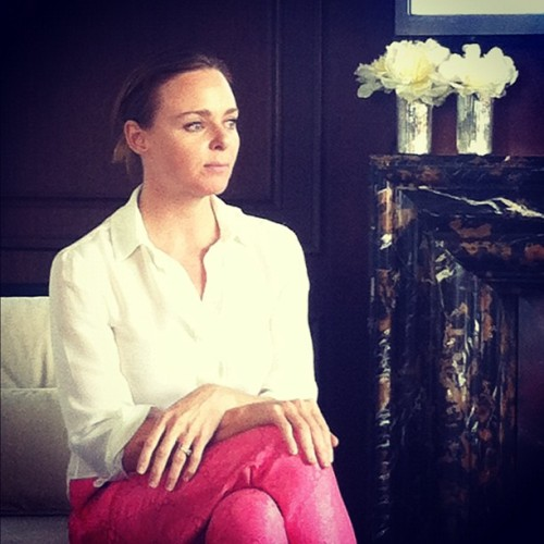 Fireside chat with Stella McCartney Photographed by Eva Chen