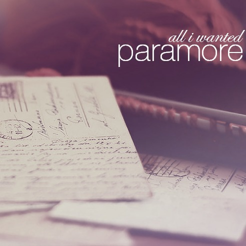 Paramore - All I Wanted (Piano Version)