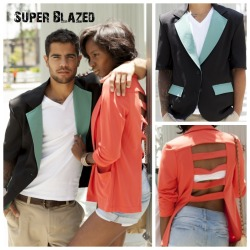 CHECK OUT OUR FEATURE SUMMER BLAZERS!! More colors available!! Pre-order yours TODAY and get FREE SHIPPING!! www.superblazed.com