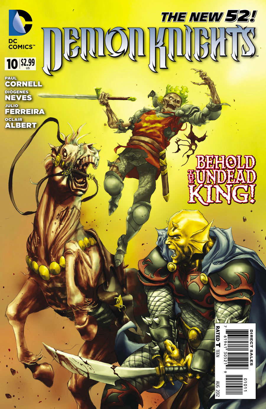 Demon Knights #10