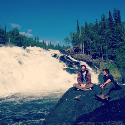 sunday hike to #cameronfalls #explorecanada  #whatmakesjamesderp  (Taken with Instagram at Cameron Falls)