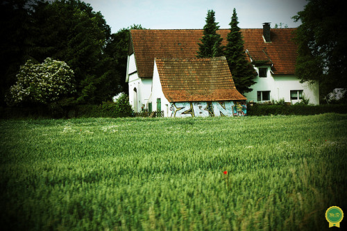 Graffiti in a German countryside on Flickr.