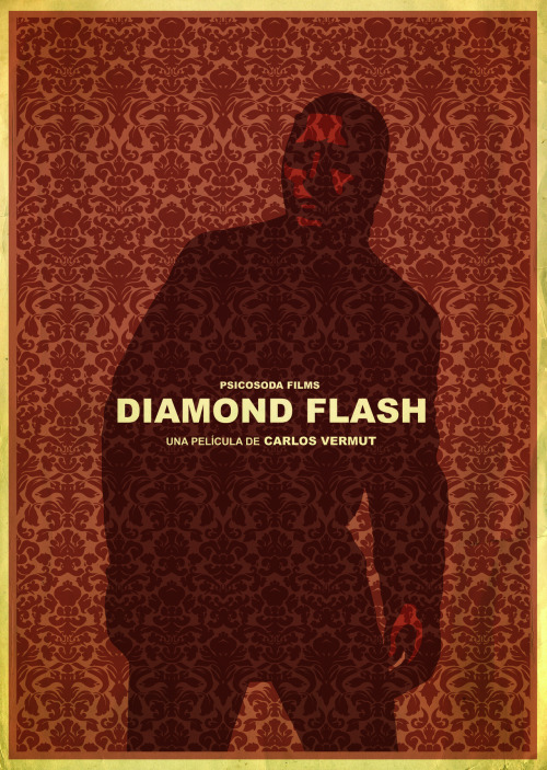 Cartel homenaje a Diamond Flash
