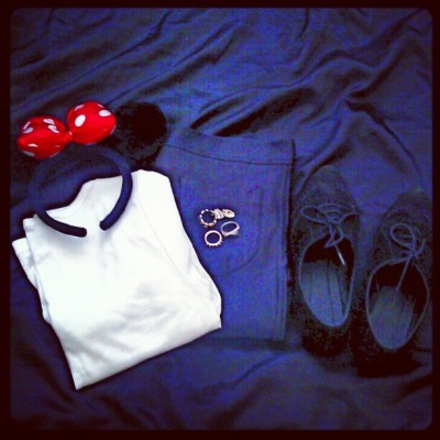 Disneyland ootd (: (Taken with Instagram)