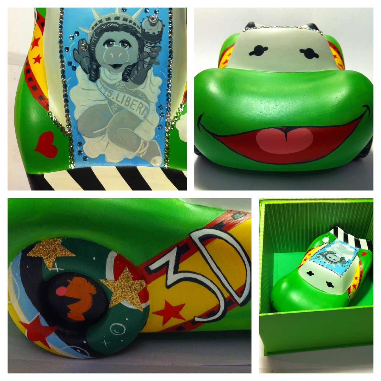 My custom 95 vinylmation for Disney Wonderground gallery! Inspired by Muppetvision 3D