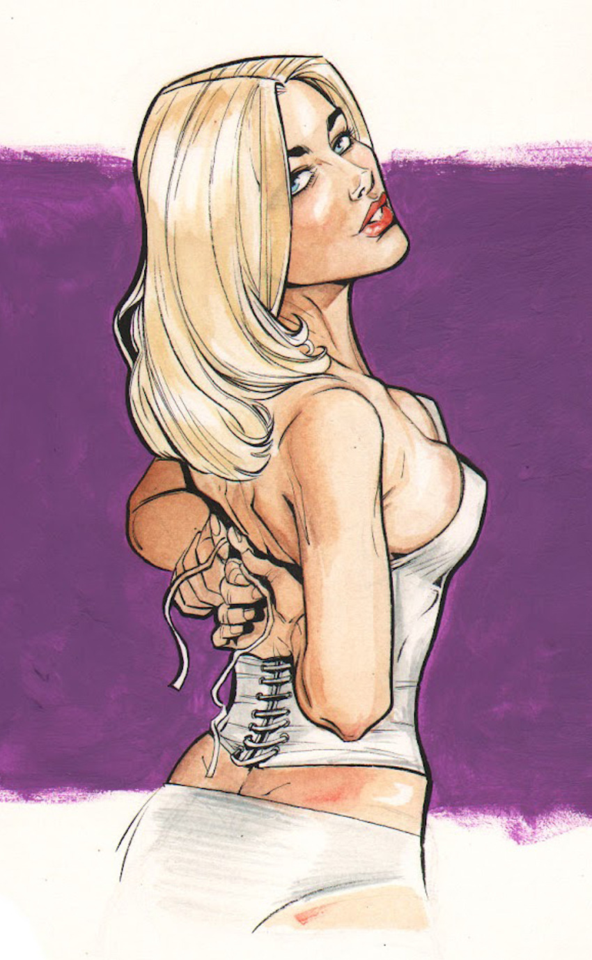 comicbookartwork:  Emma Frost By Joëlle Jones