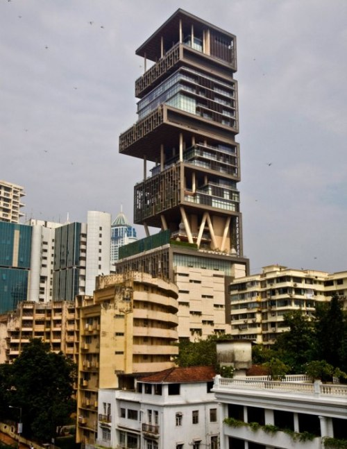 That's Not a House, That's a Home —A 27-Story Home | Ambani Residence in Mumbai, India   Photograph by Jonathan Becker