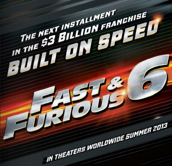 "First Promo Image for ""Fast and Furious 6"""