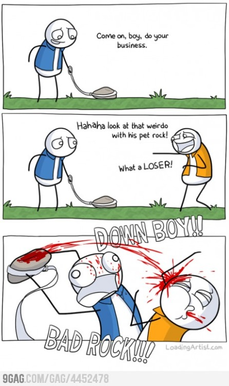 I want a pet rock