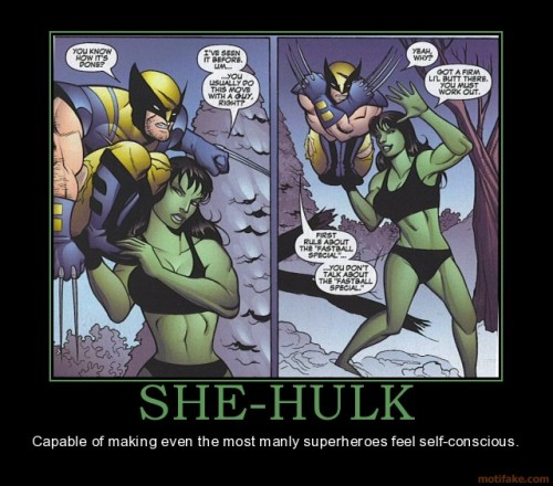 "fuckyeah-nerdery:  I love you, Jennifer Walters.  She-Hulk is the reason I chose The Avengers as ""my comic"" when I was in junior high."