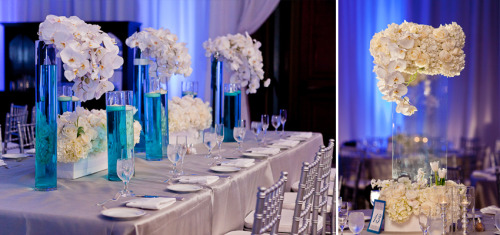 singlebride:  Gorgeous table setting!