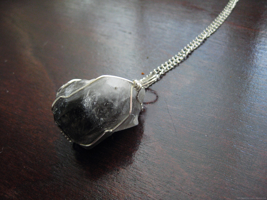 Smoky Quartz Pendant on Etsy