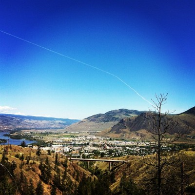 My sunny backyard #kamloops  (Taken with Instagram)