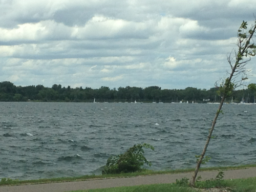 Tour de lake Calhoun.