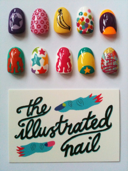theillustratednail:  The Illustrated Nail for Kipling 25th Anniversary Designs…complete with Kipling monkey!