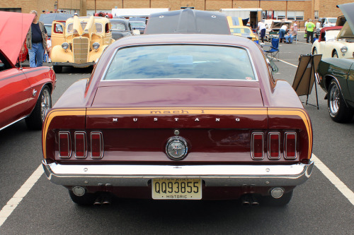 Sticking with the horses, a '69 Ford Mustang 428 Super Cobra Jet Mach I