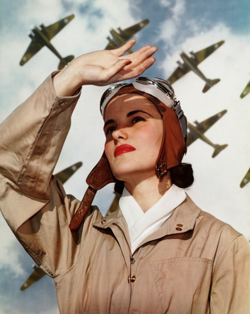 willigula:  Soldiers of the Sky by Nickolas Muray, 1940
