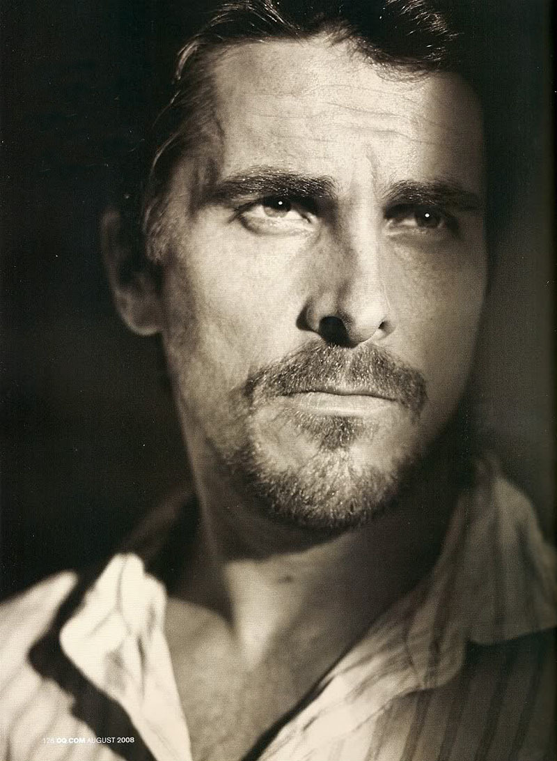 Christian Bale  (vía icaught-fire)