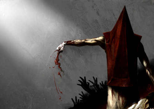 tapeittomyface:  Pyramid Head - GC-idea by ~arok318 Cool Design
