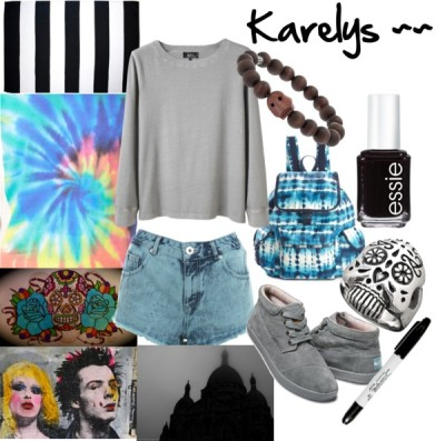 Karelys~~ by capnwolfgang featuring long sleeve tops
