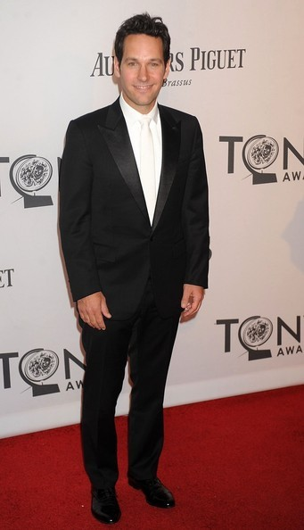 Paul Rudd at the Tony Awards