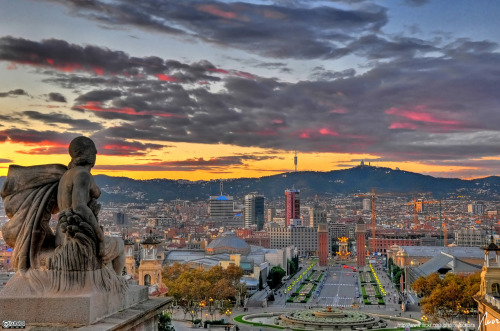 My dream vacation I'd like to take with my would-be husband.   —Barcelona, Spain
