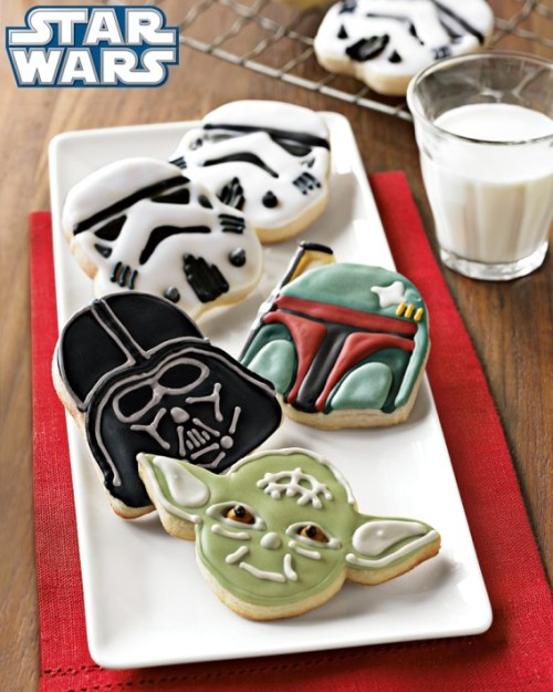 Star Wars Cookies.