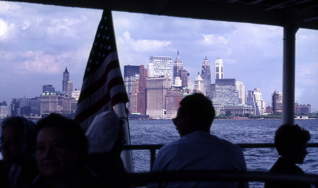 New York City from a tour boat, 1967 by gbaku on Flickr.