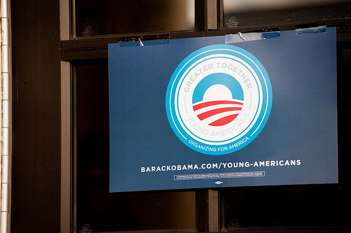 Young Americans for Obama - Volunteer President Obama needs your help. Show your support for the President by volunteering with Young Americans for Obama. Register to vote | Volunteer | Contribute