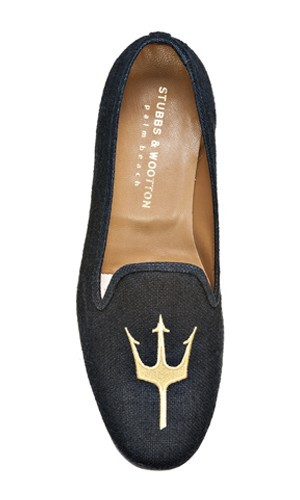 The linen trident slippers from Stubbs & Wootton are a really phenomenal summer piece that will pair well with most any pair of trousers that you might have. Additionally, they breathe very well due to the nature of the fabric. The final details are almost as essential as the rest of the outfit–they're the accents and punctuations that frame the letters of your language. (via Summer Uniform : Men of Habit)