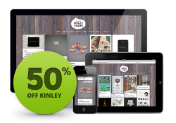 Kinley theme is on sale for today only, get 50% off the regular price and an additional 10% off if you share the theme. $2 (and less) for all of today. Click here to install Kinley.